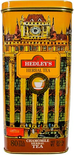 Hedley`s 80ct Chamomile Metal Can